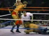 Rougeau Brothers vs Moondogs   Championship Wrestling July 26th, 1986