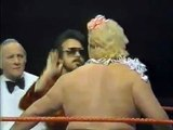 Adrian Adonis vs Jim Powers   Championship Wrestling Jan 18th, 1986