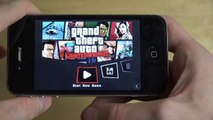 GTA Liberty City Stories iPhone 4S Gameplay Review