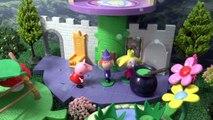 Peppa Pig français Épisode avec Ben et Holley | Thomas et ses Amis avec Pepa dans le Petit Royaume