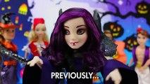 Mal and Evie Vampires Arrested by Vampire Hunters after Descendants Audrey Tells. DisneyToysFan