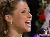 Stephanie McMahon and Triple H renew their wedding vows