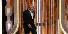 Golden Globes 2016 - Lorenzo Soria Acceptance Speech Winner Golden Globe Awards 2016