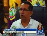 Se retiraron sin previo aviso las instalaciones del peaje del Santo Domingo