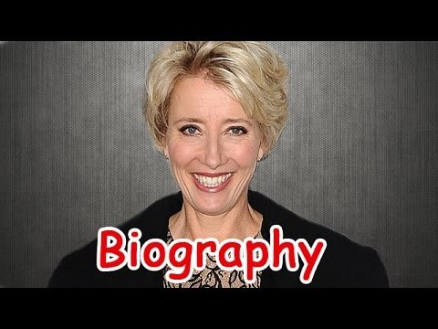 Emma Thompson Biography