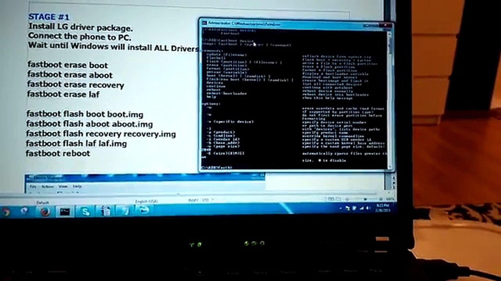 FIX DEAD LG G2 - Unbrick - Fix Fastboot Mode - EASY METHOD
