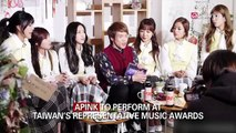 APINK TO PERFORM AT TAIWAN'S REPRESENTATIVE MUSIC AWARDS