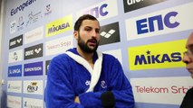 FFN - Euro water-polo 2016: Interview d'Ugo Crousillat après France Malte
