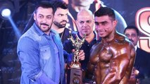 Salman Khan SUPPORTS Disabled Body Builders
