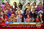 The Morning Show - Sanam Chaudhry And Furqan Sharing Which Things Made Them Like Each Other And How He Then Proposed To Her