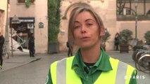 Campagne photo des agents de la Ville : Yvonne, éboueure.