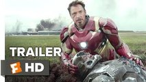 Captain America_ Civil War Official Trailer #1 (2016) - Chris Evans, Scarlett Johansson Movie HD