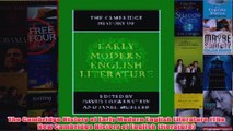 The Cambridge History of Early Modern English Literature The New Cambridge History of