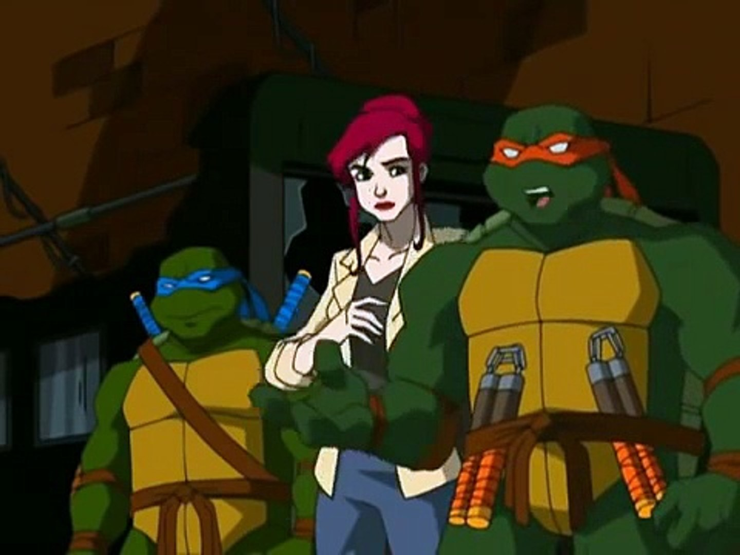 Tmnt S01e24 Lone Raph And Cub Widescreen Dailymotion Video