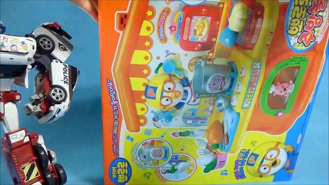 뽀로로 사랑이 주방놀이 또봇 쿼트란 뽀로로4기 Pororo kitchen toy & TOBOT