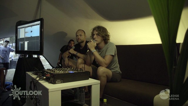 The Knowledge Arena: Noisia & Friends - Outlook Festival 2015
