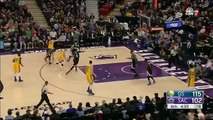 Stephen Curry Knows Its in Before Its In  Warriors vs Kings  Jan 9 2016  NBA 2015-16 Season