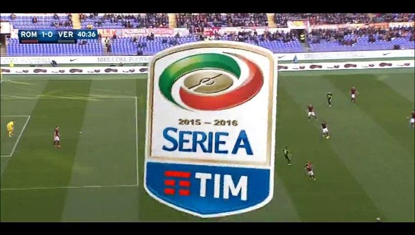 All Goals HD - AS Roma 1-1 Verona - 17-01-2016