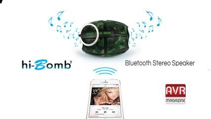 Hi Bomb 2 il diffusore dalla forma Originale e Ottimo Sound - AVRMagazine.com