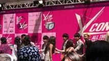 140810 BTS - Hi Touch Artist Engagement at Kcon2014