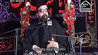 Real History Of Islam 8thMajlis Maulana Abid Bilgrami