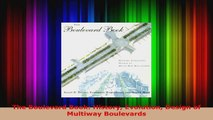 Download  The Boulevard Book History Evolution Design of Multiway Boulevards PDF Free