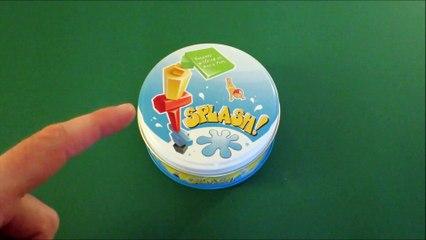 Vidéorègle #435M: Splash! le jeu d'adresse en mini boîte