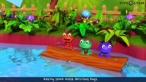 Five Little Speckled Frogs   5 Little Speckled Frogs   3D Rhymes For Children