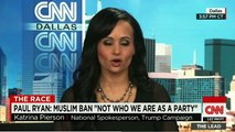 Donald Trump's spokes person - 'So what. They are Muslim'