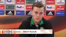 Rusnak: We moeten het voor de statistieken, maar vooral voor de supporters doen - RTV Noord