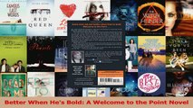 Read  Better When Hes Bold A Welcome to the Point Novel PDF Free