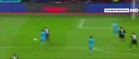 Bayer Leverkusen vs Barcelona 1-1 Chicharito Hernández Goal - Bayer Leverkusen vs Barcelona 2015