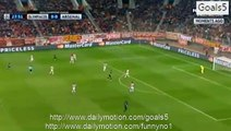 Olivier Giroud Goal Olympiakos 0 - 1 Arsenal Champions League 9-12-2015