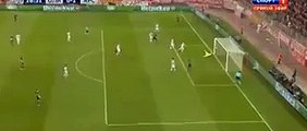 Olivier Giroud Goal - Olympiakos Piraeus 0 - 1 Arsenal - 09_12_2015