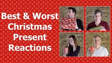 Best & Worst Christmas Present Reactions