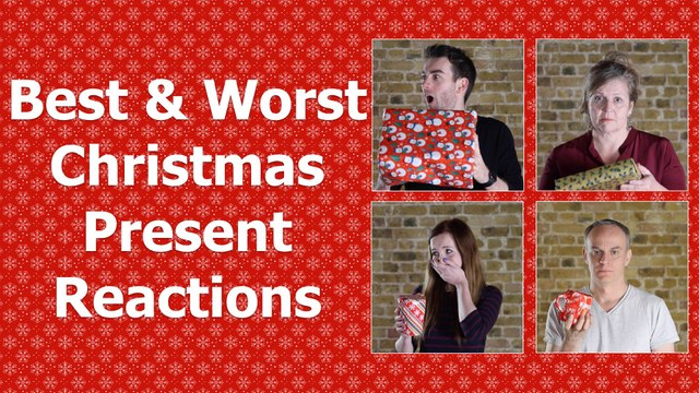 Best & Worst Christmas Present Reactions