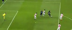 Olivier Giroud Goal - Olympiakos Piraeus 0 - 2Arsenal - 09/12/2015