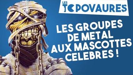 5 groupes de métal aux mascottes célèbres - Les Topovaures #18