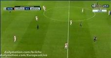 Olivier Giroud SUPER GOAL Olympiakos 0 - 2 Arsenal (UCL) 2015