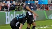 0-2 Olivier Giroud Second Goal - Olympiakos v. Arsenal 09.12.2015 HD