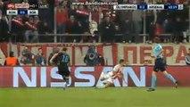 Olivier Giroud Penalty Cick Goal 0-3 Olympiakos Piraeus vs Arsenal 09.12.2015