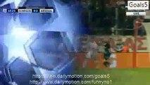 Olivier Giroud 3 rd Goal Olympiakos 0 - 3 Arsenal Champions League 9-12-2015