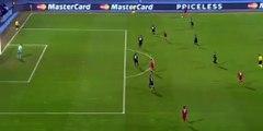 Robert Lewandowski Goal - D. Zagreb 0 - 1 Bayern Munich 09-12-2015
