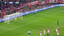 Olivier Giroud Goal - Olympiakos Piraeus 0-3 Arsenal - 09-12-2015 [gol] Group Stage