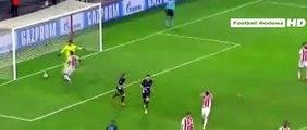 Olympiakos vs Arsenal 0-3 Olivier Giroud Hat Trick Goal - Olympiakos vs Arsenal 2015
