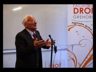 """Conférence """"Montagnes et Liberté"""" avec Pierre Mazeaud et Michel Destot (Partie 2)"""