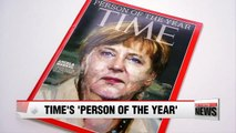 German leader Angela Merkel named Time's 'Person of the Year'