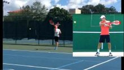 Tennis Forehand Release - Get Easy Speed