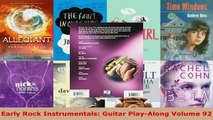 Download  Early Rock Instrumentals Guitar PlayAlong Volume 92 EBooks Online