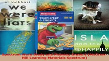 Read  Spectrum Word Study and Phonics Grade 6 McGrawHill Learning Materials Spectrum Ebook Free